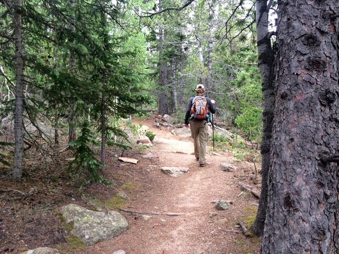 Hiking the Barr Trail